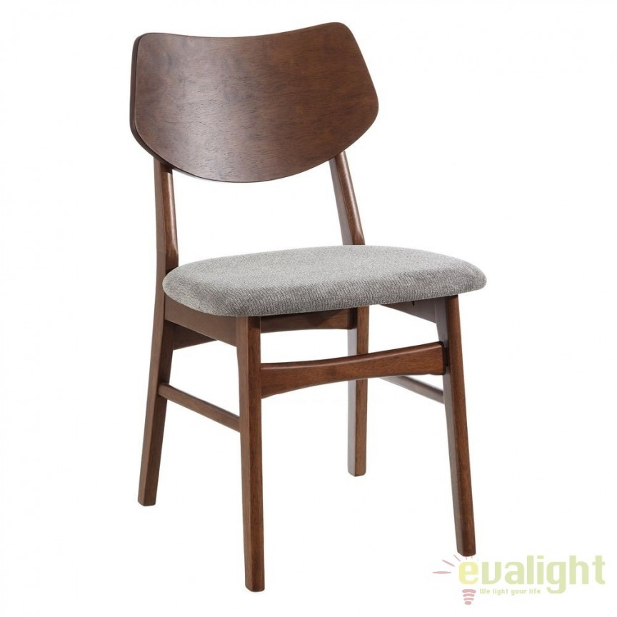 Set de 2 scaune design nordic Madera, taupe SX-106596, Seturi scaune dining, scaune HoReCa, Corpuri de iluminat, lustre, aplice, veioze, lampadare, plafoniere. Mobilier si decoratiuni, oglinzi, scaune, fotolii. Oferte speciale iluminat interior si exterior. Livram in toata tara.  a