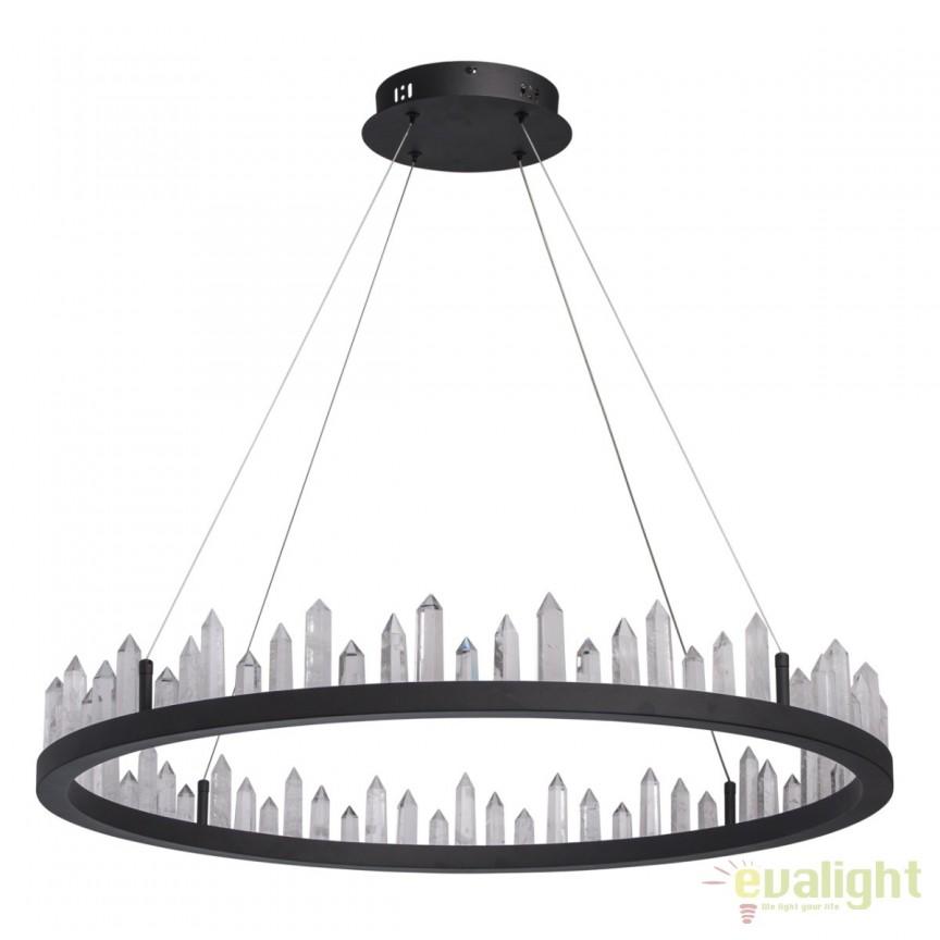 Lustra LED design rustic Globula 56W 690010201 MW, ILUMINAT INTERIOR RUSTIC, Corpuri de iluminat, lustre, aplice, veioze, lampadare, plafoniere. Mobilier si decoratiuni, oglinzi, scaune, fotolii. Oferte speciale iluminat interior si exterior. Livram in toata tara.  a