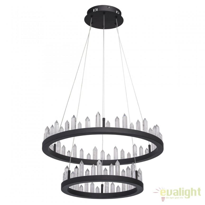 Lustra LED design rustic Globula 71W 690010302 MW, ILUMINAT INTERIOR RUSTIC, Corpuri de iluminat, lustre, aplice, veioze, lampadare, plafoniere. Mobilier si decoratiuni, oglinzi, scaune, fotolii. Oferte speciale iluminat interior si exterior. Livram in toata tara.  a