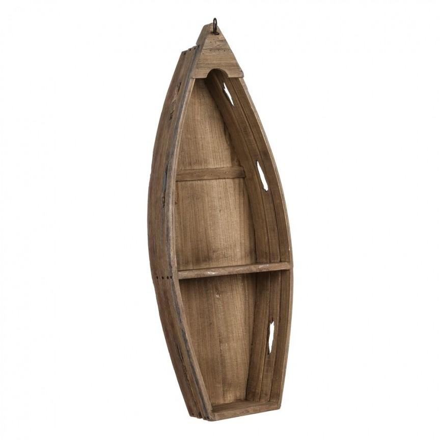 Raft decorativ design vintage Barca, 81cm SX-104924, Vitrine - Rafturi, Corpuri de iluminat, lustre, aplice, veioze, lampadare, plafoniere. Mobilier si decoratiuni, oglinzi, scaune, fotolii. Oferte speciale iluminat interior si exterior. Livram in toata tara.  a
