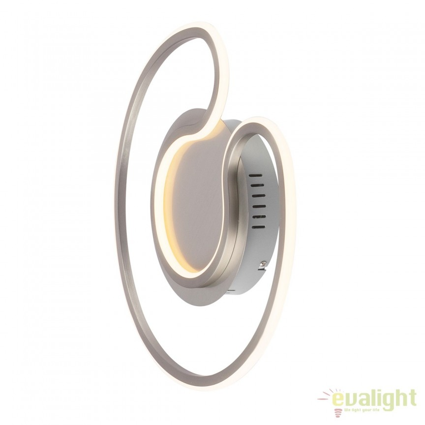 Aplica LED perete / tavan moderna SOFIA 20W 67093-20 GL, PROMOTII, Corpuri de iluminat, lustre, aplice, veioze, lampadare, plafoniere. Mobilier si decoratiuni, oglinzi, scaune, fotolii. Oferte speciale iluminat interior si exterior. Livram in toata tara.  a