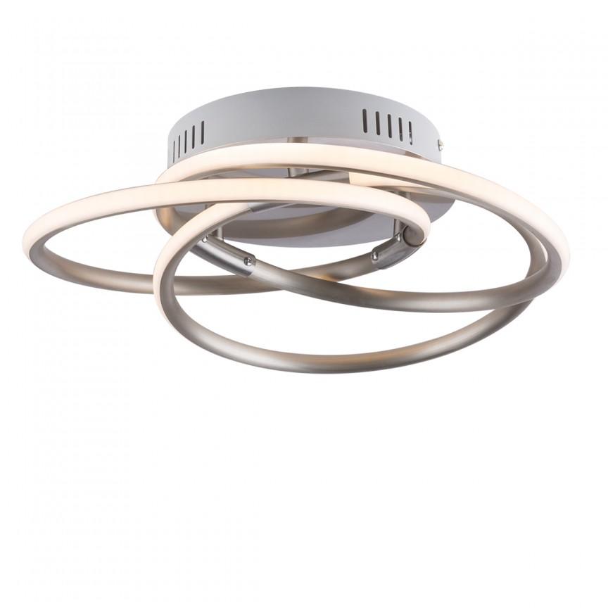Plafoniera LED design modern BARNA 24W 67828-24N GL, PROMOTII,  a