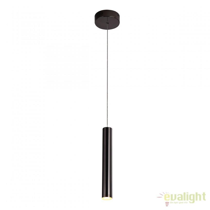 Pendul LED stil modern ORGANIC FAT negru P0280 MX, Pendule, Lustre suspendate, Corpuri de iluminat, lustre, aplice, veioze, lampadare, plafoniere. Mobilier si decoratiuni, oglinzi, scaune, fotolii. Oferte speciale iluminat interior si exterior. Livram in toata tara.  a