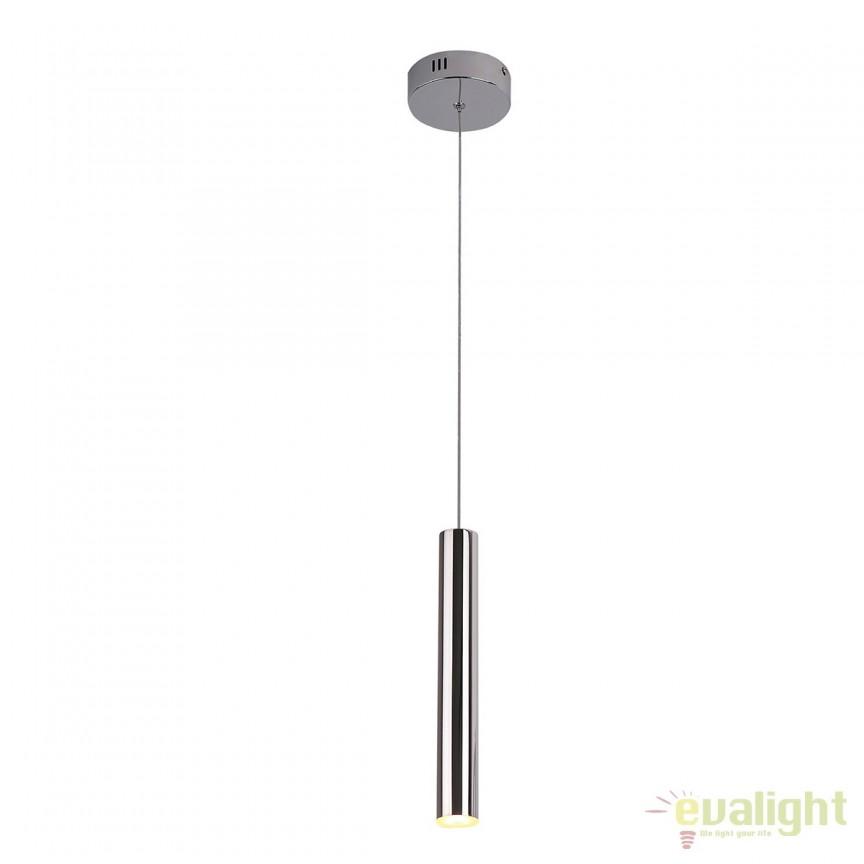 Pendul LED stil modern ORGANIC FAT crom P0279 MX, Pendule, Lustre suspendate, Corpuri de iluminat, lustre, aplice, veioze, lampadare, plafoniere. Mobilier si decoratiuni, oglinzi, scaune, fotolii. Oferte speciale iluminat interior si exterior. Livram in toata tara.  a