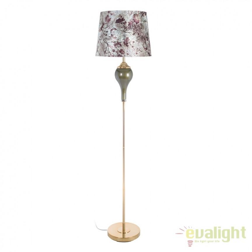 Lampadar clasic design deosebit Floralis II DZ-107279, Lampadare clasice, Corpuri de iluminat, lustre, aplice, veioze, lampadare, plafoniere. Mobilier si decoratiuni, oglinzi, scaune, fotolii. Oferte speciale iluminat interior si exterior. Livram in toata tara.  a