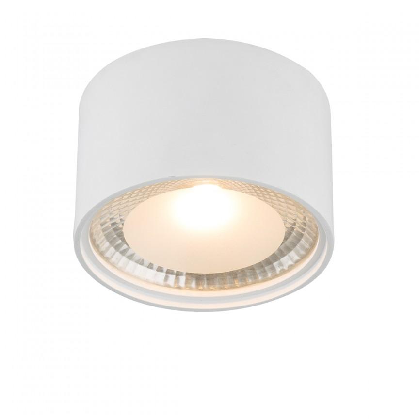 Plafoniera LED / Spot aplicat SERENA, Ø11cm alb 12007W GL, Spoturi aplicate - tavan / perete, Corpuri de iluminat, lustre, aplice, veioze, lampadare, plafoniere. Mobilier si decoratiuni, oglinzi, scaune, fotolii. Oferte speciale iluminat interior si exterior. Livram in toata tara.  a