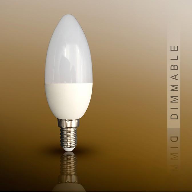 Bec LED Candel E14, dimable 7W 3000K SV-50089, Becuri E14, Corpuri de iluminat, lustre, aplice, veioze, lampadare, plafoniere. Mobilier si decoratiuni, oglinzi, scaune, fotolii. Oferte speciale iluminat interior si exterior. Livram in toata tara.  a