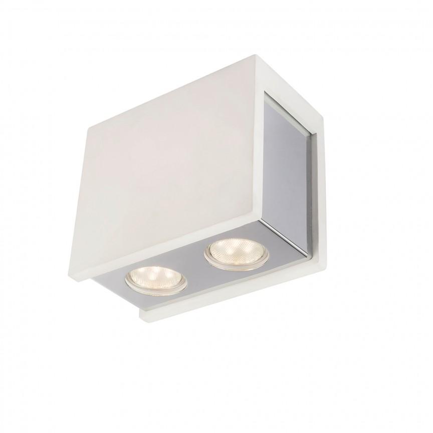 Spot aplicat modern CHRISTINE 2L 55010-2D GL, Spoturi aplicate - tavan / perete, Corpuri de iluminat, lustre, aplice, veioze, lampadare, plafoniere. Mobilier si decoratiuni, oglinzi, scaune, fotolii. Oferte speciale iluminat interior si exterior. Livram in toata tara.  a