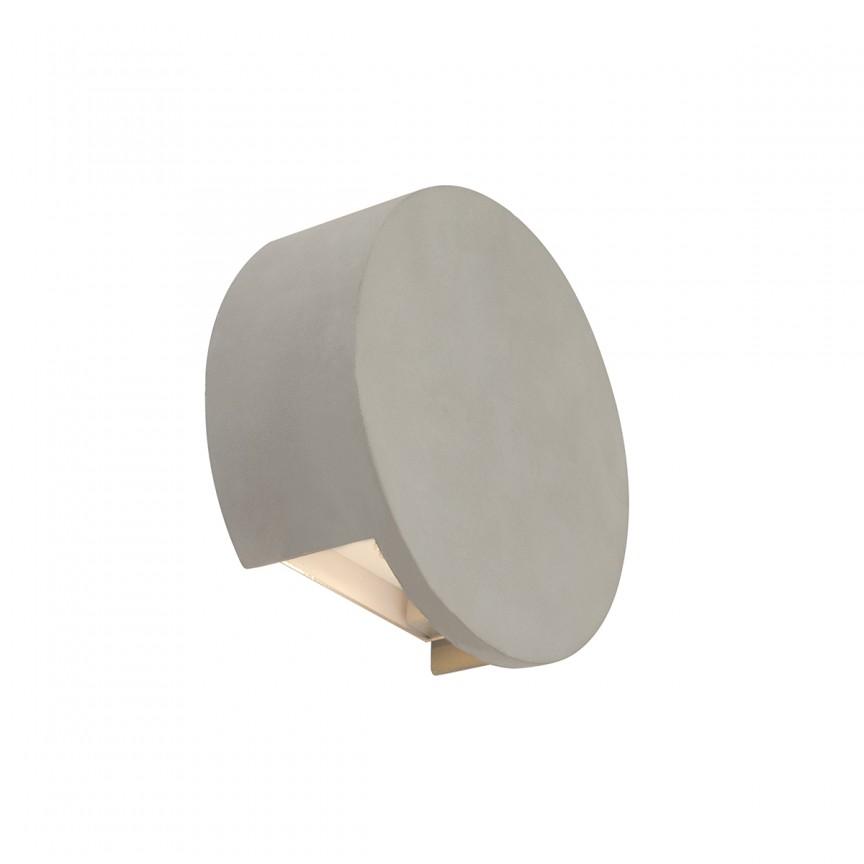 Aplica LED moderna cu lumina ambientala TIMO Ø15,5cm 55011-W2 GL, Aplice de perete LED, Corpuri de iluminat, lustre, aplice, veioze, lampadare, plafoniere. Mobilier si decoratiuni, oglinzi, scaune, fotolii. Oferte speciale iluminat interior si exterior. Livram in toata tara.  a