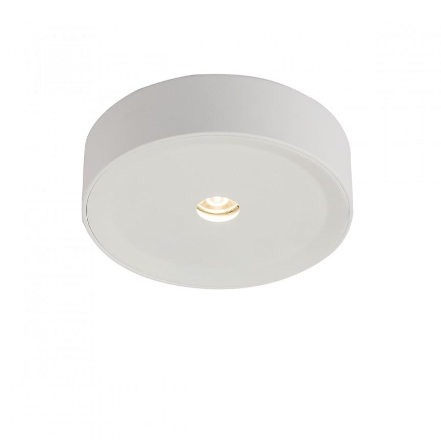 Spot LED aplicat modern Arthur Ø11cm 55005-3 GL, Spoturi aplicate - tavan / perete, Corpuri de iluminat, lustre, aplice, veioze, lampadare, plafoniere. Mobilier si decoratiuni, oglinzi, scaune, fotolii. Oferte speciale iluminat interior si exterior. Livram in toata tara.  a