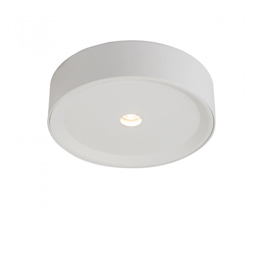 Spot LED aplicat modern Arthur Ø15cm 55005-10 GL, Spoturi aplicate - tavan / perete, Corpuri de iluminat, lustre, aplice, veioze, lampadare, plafoniere. Mobilier si decoratiuni, oglinzi, scaune, fotolii. Oferte speciale iluminat interior si exterior. Livram in toata tara.  a