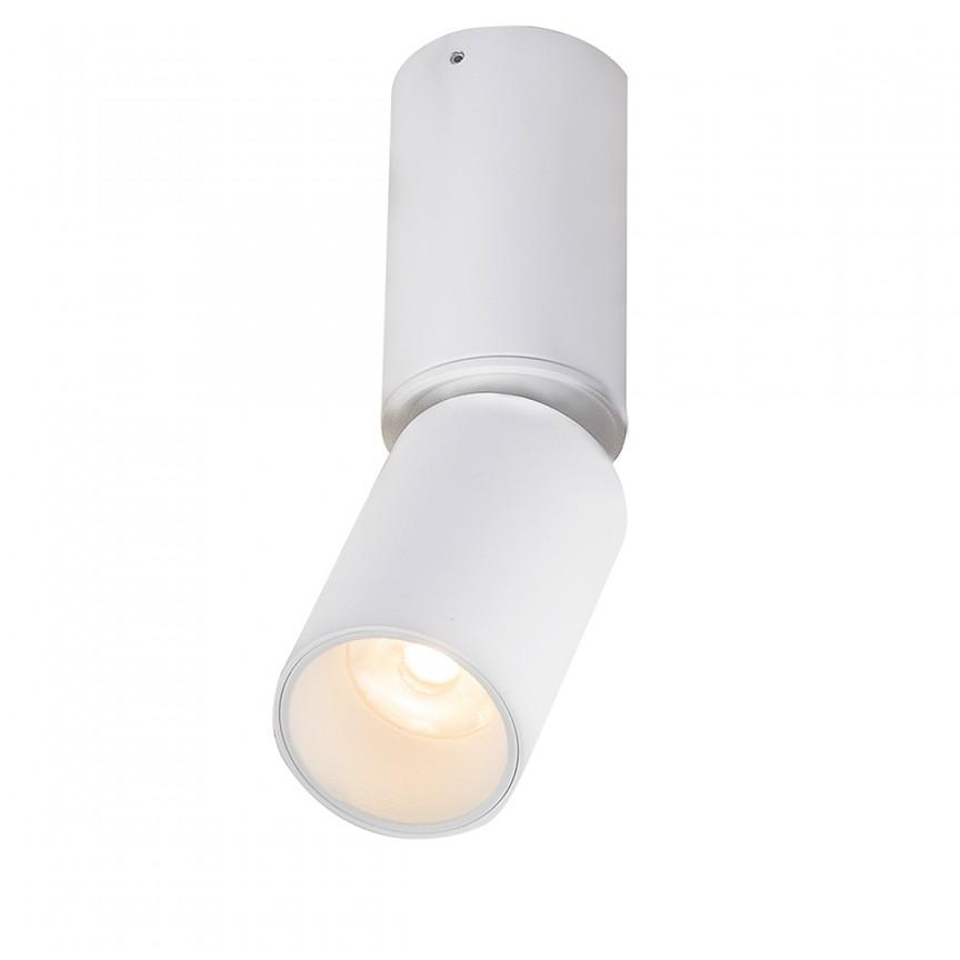Spot LED aplicat directionabil LUWIN H15,5cm 55000-8 GL, Spoturi aplicate - tavan / perete, Corpuri de iluminat, lustre, aplice, veioze, lampadare, plafoniere. Mobilier si decoratiuni, oglinzi, scaune, fotolii. Oferte speciale iluminat interior si exterior. Livram in toata tara.  a