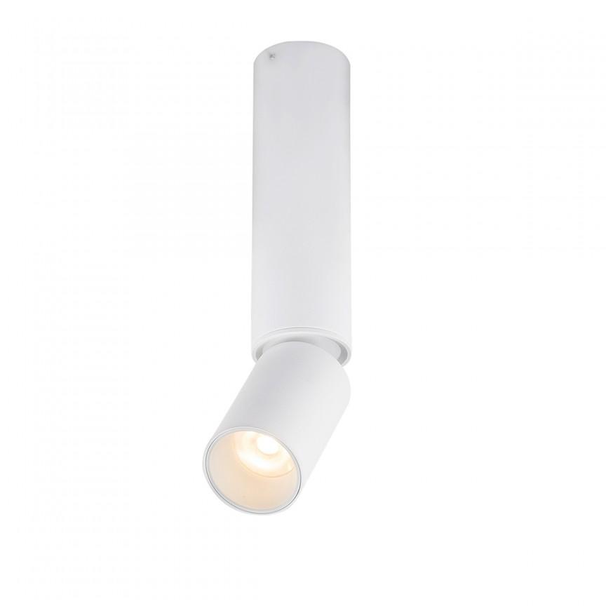 Spot LED aplicat directionabil LUWIN H23cm 55001-8 GL, Spoturi aplicate - tavan / perete, Corpuri de iluminat, lustre, aplice, veioze, lampadare, plafoniere. Mobilier si decoratiuni, oglinzi, scaune, fotolii. Oferte speciale iluminat interior si exterior. Livram in toata tara.  a