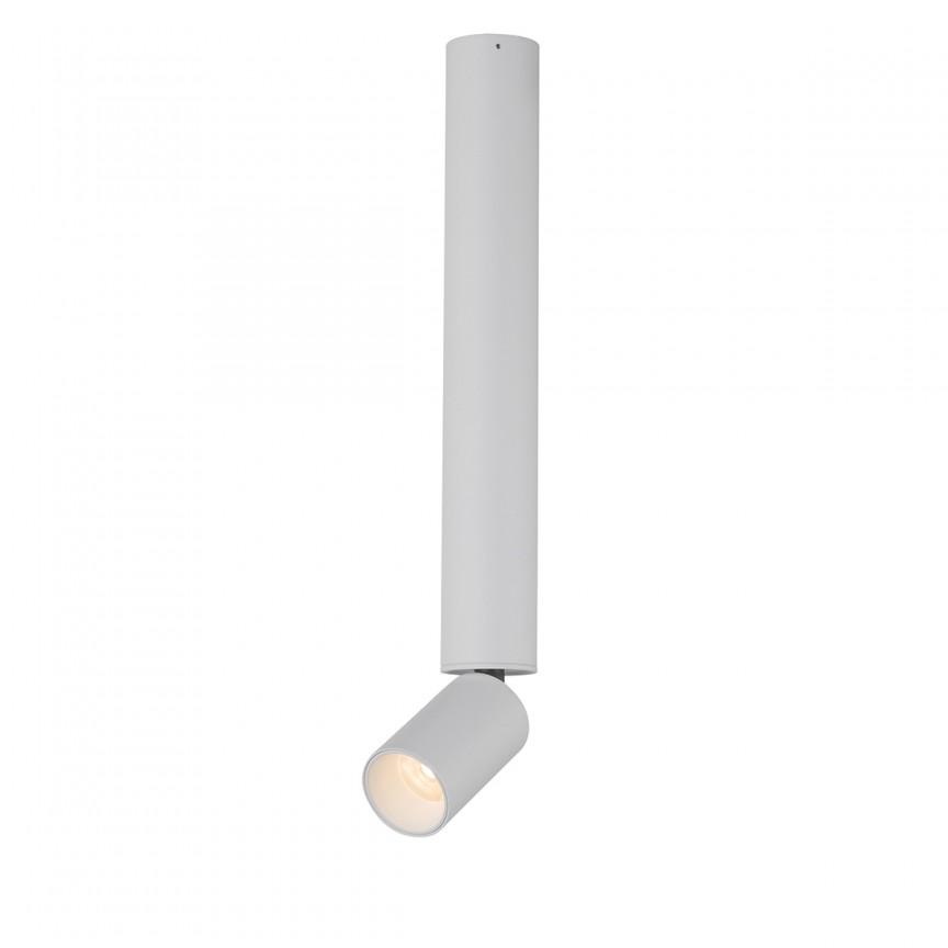 Spot LED aplicat directionabil LUWIN H38cm 55002-8 GL, Spoturi LED incastrate, aplicate, Corpuri de iluminat, lustre, aplice, veioze, lampadare, plafoniere. Mobilier si decoratiuni, oglinzi, scaune, fotolii. Oferte speciale iluminat interior si exterior. Livram in toata tara.  a