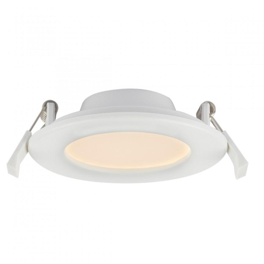 Spot LED incastrabil pentru baie IP44 Unella Ø11,5cm 12390-6 GL, Spoturi LED incastrate, aplicate, Corpuri de iluminat, lustre, aplice, veioze, lampadare, plafoniere. Mobilier si decoratiuni, oglinzi, scaune, fotolii. Oferte speciale iluminat interior si exterior. Livram in toata tara.  a