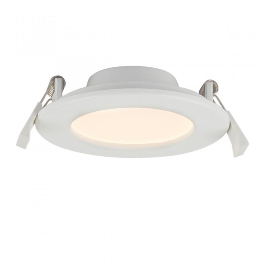 Spot LED incastrabil dimabil pentru baie IP44 Unella Ø11,5cm 12390-9D GL, Spoturi LED incastrate, aplicate, Corpuri de iluminat, lustre, aplice, veioze, lampadare, plafoniere. Mobilier si decoratiuni, oglinzi, scaune, fotolii. Oferte speciale iluminat interior si exterior. Livram in toata tara.  a