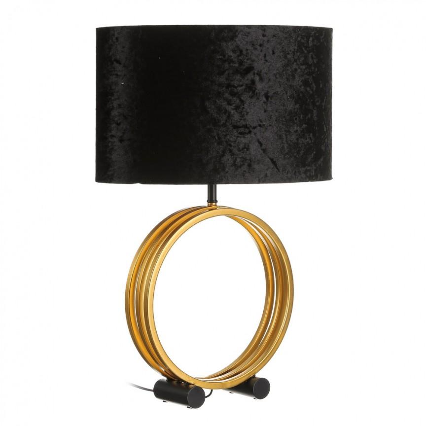 Veioza / Lampa de masa catifea design elegant Olivia H62cm DZ-104006, Magazin,  a