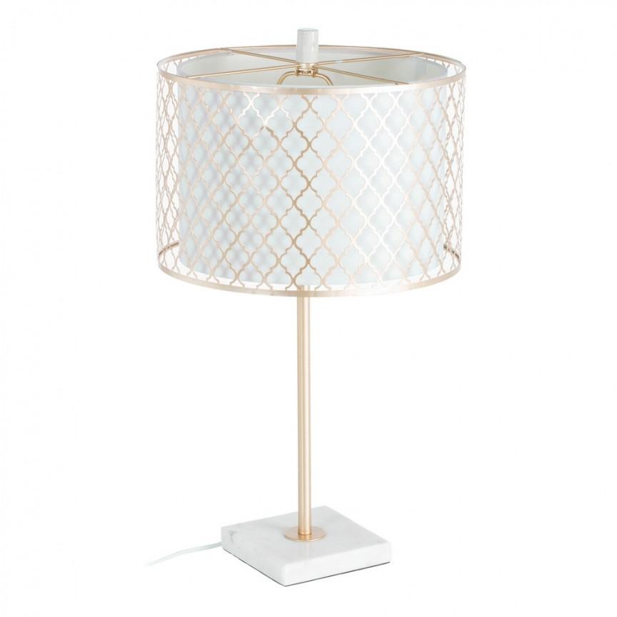 Veioza / Lampa de masa decorativa design elegant Rosalia H65cm DZ-107282, Veioze, Lampi de masa, Corpuri de iluminat, lustre, aplice, veioze, lampadare, plafoniere. Mobilier si decoratiuni, oglinzi, scaune, fotolii. Oferte speciale iluminat interior si exterior. Livram in toata tara.  a
