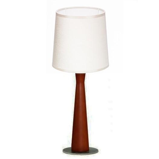 Veioza eleganta cu baza din lemn BARON KB TL1 SMALL cires, Veioze, Lampi de masa, Corpuri de iluminat, lustre, aplice, veioze, lampadare, plafoniere. Mobilier si decoratiuni, oglinzi, scaune, fotolii. Oferte speciale iluminat interior si exterior. Livram in toata tara.  a