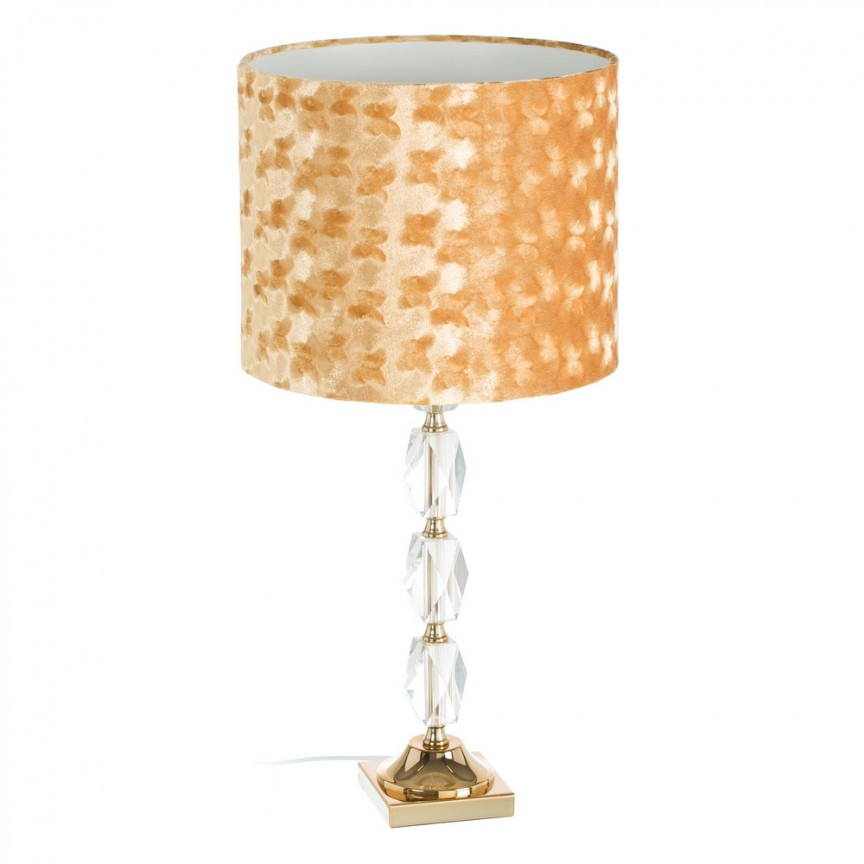 Veioza / Lampa de masa decorativa design elegant Tania H63,5cm DZ-107274, Veioze, Lampi de masa, Corpuri de iluminat, lustre, aplice, veioze, lampadare, plafoniere. Mobilier si decoratiuni, oglinzi, scaune, fotolii. Oferte speciale iluminat interior si exterior. Livram in toata tara.  a