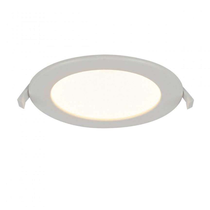 Spot LED incastrabil pentru baie IP44 Unella Ø17cm 12391-12 GL, Spoturi LED incastrate, aplicate, Corpuri de iluminat, lustre, aplice, veioze, lampadare, plafoniere. Mobilier si decoratiuni, oglinzi, scaune, fotolii. Oferte speciale iluminat interior si exterior. Livram in toata tara.  a