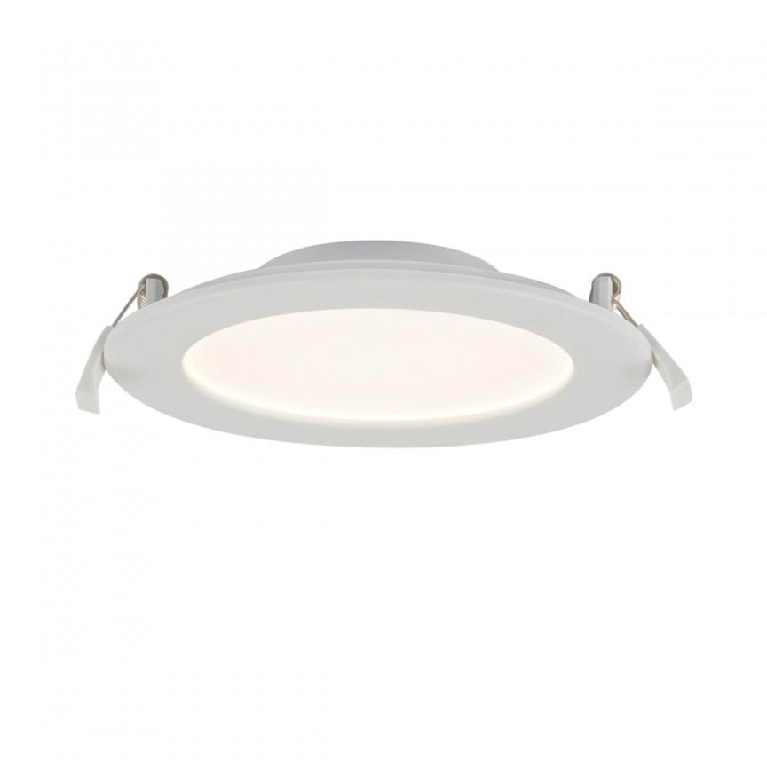 Spot LED dimabil incastrabil pentru baie IP44 Unella Ø17cm 12391-16D GL, Spoturi LED incastrate, aplicate, Corpuri de iluminat, lustre, aplice, veioze, lampadare, plafoniere. Mobilier si decoratiuni, oglinzi, scaune, fotolii. Oferte speciale iluminat interior si exterior. Livram in toata tara.  a