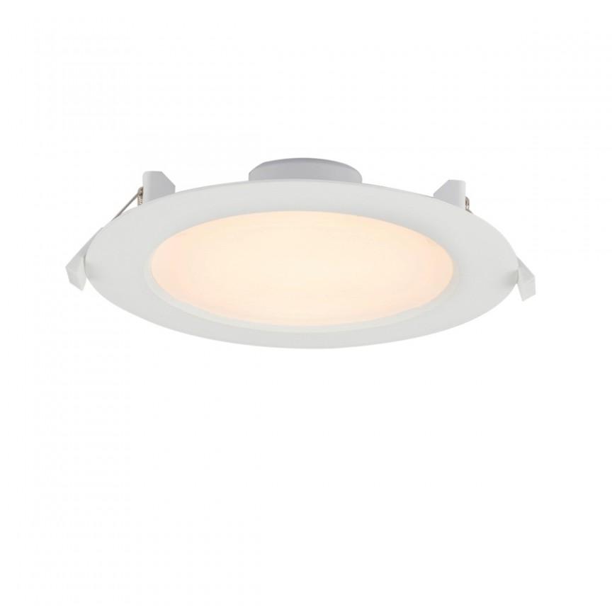 Spot LED incastrabil pentru baie IP65 POLLY Ø18cm 12395-15 GL, Spoturi LED incastrate, aplicate, Corpuri de iluminat, lustre, aplice, veioze, lampadare, plafoniere. Mobilier si decoratiuni, oglinzi, scaune, fotolii. Oferte speciale iluminat interior si exterior. Livram in toata tara.  a