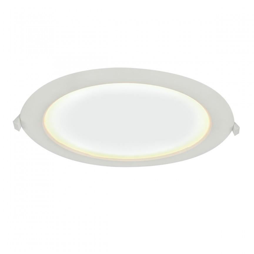 Spot LED incastrabil pentru baie IP65 POLLY Ø24cm 12395-24 GL, Spoturi LED incastrate, aplicate, Corpuri de iluminat, lustre, aplice, veioze, lampadare, plafoniere. Mobilier si decoratiuni, oglinzi, scaune, fotolii. Oferte speciale iluminat interior si exterior. Livram in toata tara.  a
