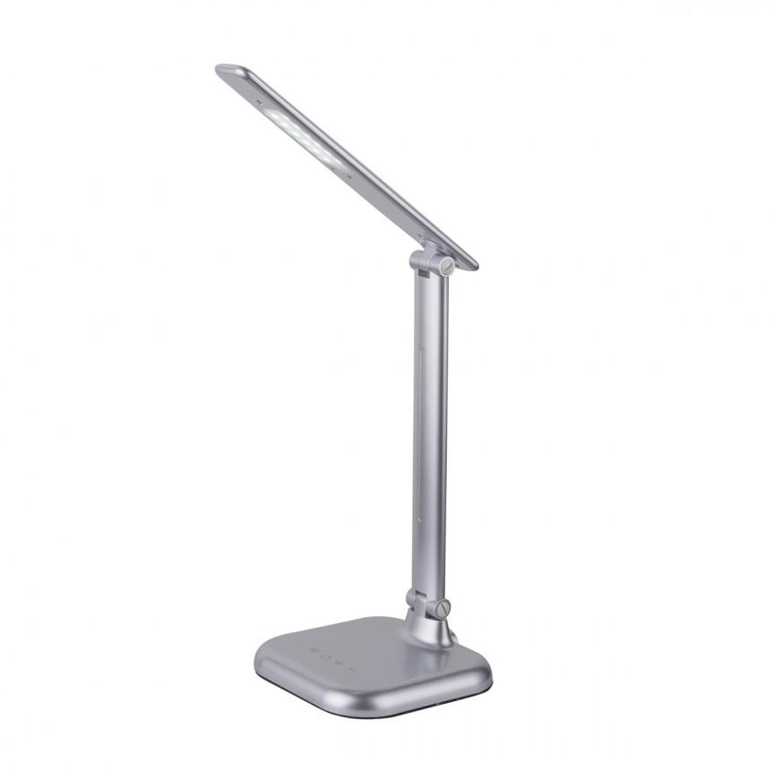 Veioza de birou LED dimabila Davos 58209S GL, Magazin, Corpuri de iluminat, lustre, aplice, veioze, lampadare, plafoniere. Mobilier si decoratiuni, oglinzi, scaune, fotolii. Oferte speciale iluminat interior si exterior. Livram in toata tara.  a