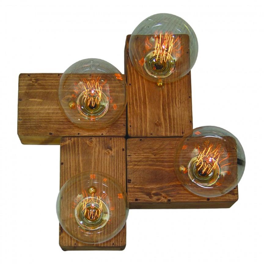 Aplica de perete din lemn design rustic HL-236W-4 BENZAI WALL LAMP 77-3167 HL, Magazin, Corpuri de iluminat, lustre, aplice, veioze, lampadare, plafoniere. Mobilier si decoratiuni, oglinzi, scaune, fotolii. Oferte speciale iluminat interior si exterior. Livram in toata tara.  a