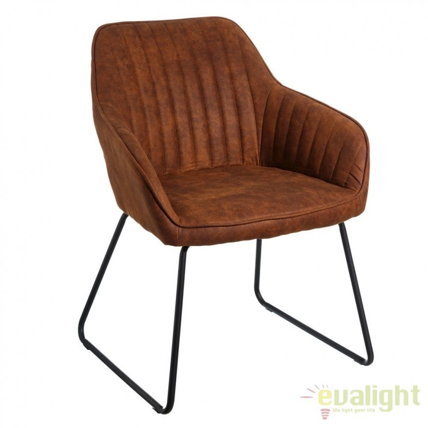 Set de 2 scaune elegante Monique, maro antic SX-106352, Magazin, Corpuri de iluminat, lustre, aplice, veioze, lampadare, plafoniere. Mobilier si decoratiuni, oglinzi, scaune, fotolii. Oferte speciale iluminat interior si exterior. Livram in toata tara.  a