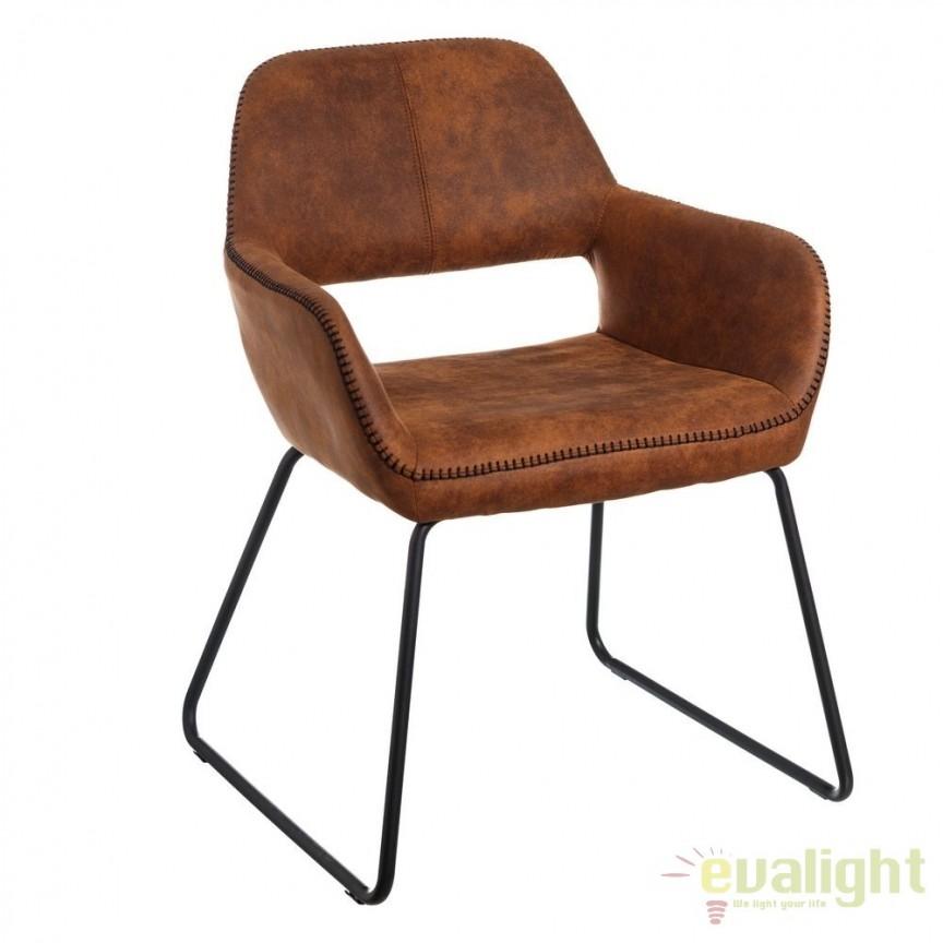 Set de 2 scaune elegante Monique, maro antic SX-106349, Magazin, Corpuri de iluminat, lustre, aplice, veioze, lampadare, plafoniere. Mobilier si decoratiuni, oglinzi, scaune, fotolii. Oferte speciale iluminat interior si exterior. Livram in toata tara.  a