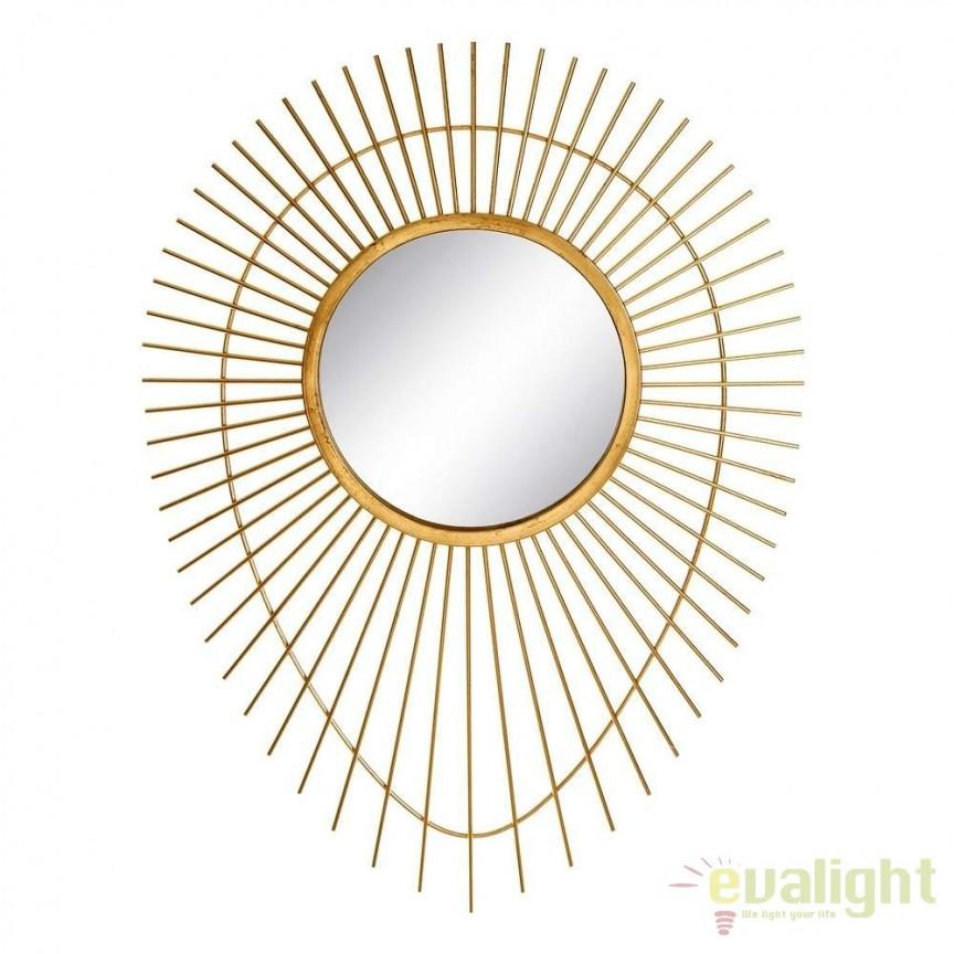 Oglinda decorativa Sharilyn 77,5x105cm SX-106065, Oglinzi decorative , moderne✅ decoratiuni de perete cu oglinda⭐ modele mari si rotunde pentru Hol, Living, Dormitor si Baie.❤️Promotii la oglinzi cu design decorativ❗ Intra si vezi poze ✚ pret ➽ www.evalight.ro. ➽ sursa ta de inspiratie online❗ Alege oglinzi deosebite Art Deco de lux pentru decorare casa, fabricate de branduri renumite. Aici gasesti cele mai frumoase si rafinate obiecte de decor cu stil contemporan unicat, oglinzi elegante cu suport de prindere pe perete, de masa sau de podea potrivite pt dresing, cu rama din metal cu aspect antichizat sau lemn de culoare aurie, sticla argintie in diferite forme: oglinzi in forma de soare, hexagonale tip fagure hexagon, ovale, patrate mici, rectangulara sau dreptunghiulara, design original exclusivist: industrial style, retro, vintage (produse manual handmade), scandinav nordic, clasic, baroc, glamour, romantic, rustic, minimalist. Tendinte si idei actuale de designer pentru amenajari interioare premium Top 2020❗ Oferte si reduceri speciale cu vanzare rapida din stoc, oglinzi de calitate la cel mai bun pret. a