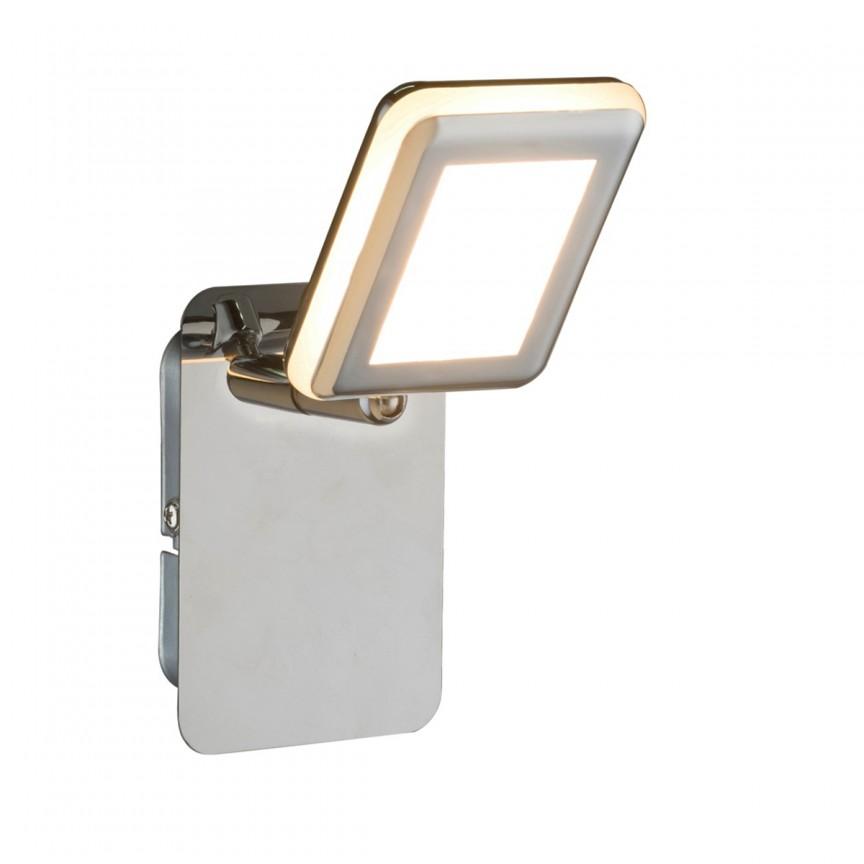 Aplica LED moderna design minimalist TRYSTAN 56223-1 GL, Spoturi - iluminat - cu 1 spot, Corpuri de iluminat, lustre, aplice, veioze, lampadare, plafoniere. Mobilier si decoratiuni, oglinzi, scaune, fotolii. Oferte speciale iluminat interior si exterior. Livram in toata tara.  a