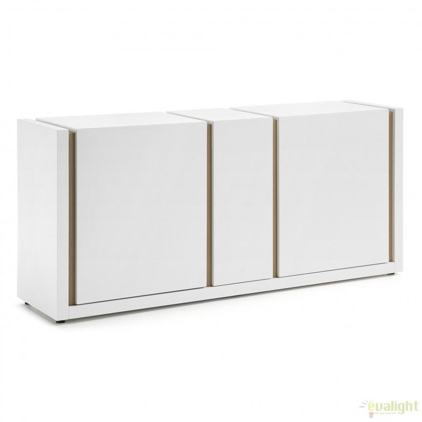 Comoda design modern QU, alb mat A461L05 JG, Dulapuri - Comode, Corpuri de iluminat, lustre, aplice, veioze, lampadare, plafoniere. Mobilier si decoratiuni, oglinzi, scaune, fotolii. Oferte speciale iluminat interior si exterior. Livram in toata tara.  a
