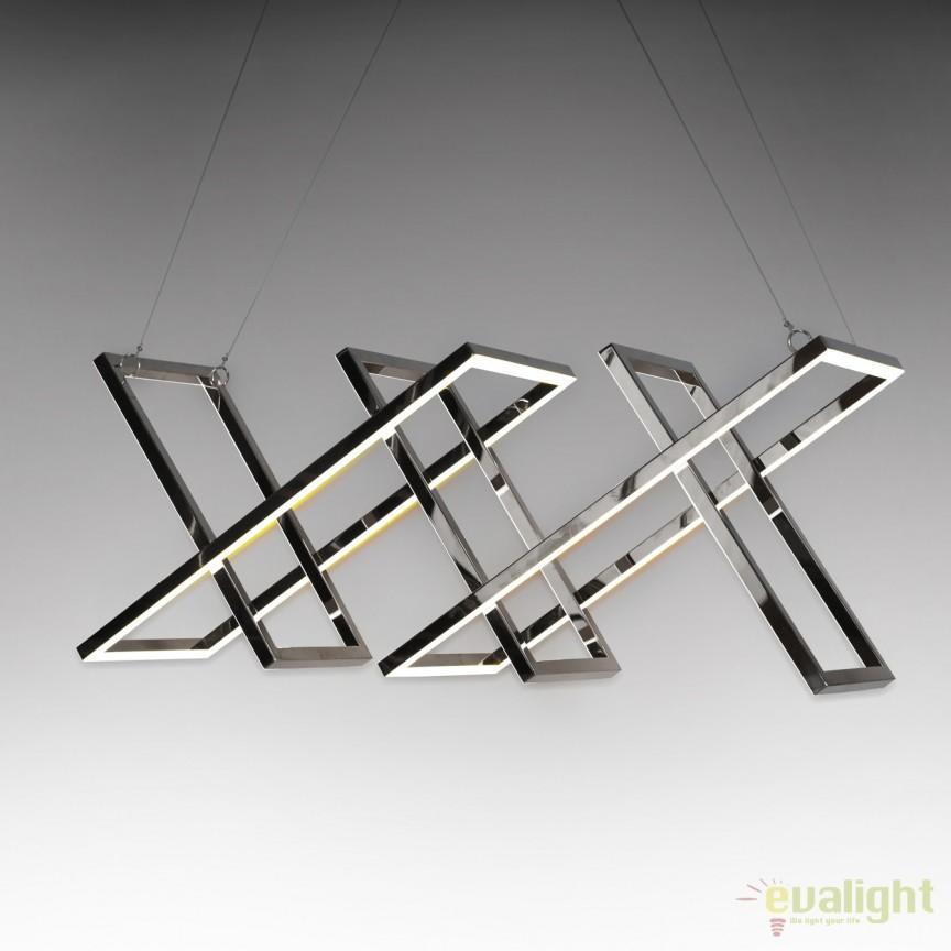 Lustra LED design ultra-modern Limus SV-753321, ILUMINAT INTERIOR LED , Corpuri de iluminat, lustre, aplice, veioze, lampadare, plafoniere. Mobilier si decoratiuni, oglinzi, scaune, fotolii. Oferte speciale iluminat interior si exterior. Livram in toata tara.  a