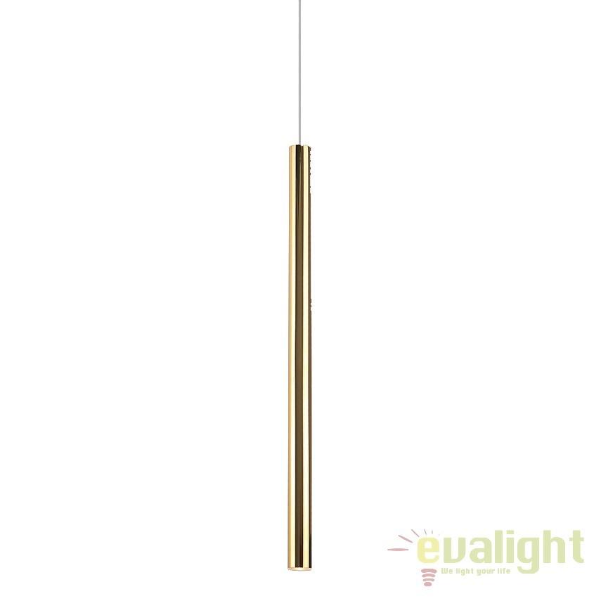Pendul LED design Premium Class Quality Ø2,5cm ORGANIC FAT auriu P0204 MX, ILUMINAT INTERIOR LED , Corpuri de iluminat, lustre, aplice, veioze, lampadare, plafoniere. Mobilier si decoratiuni, oglinzi, scaune, fotolii. Oferte speciale iluminat interior si exterior. Livram in toata tara.  a
