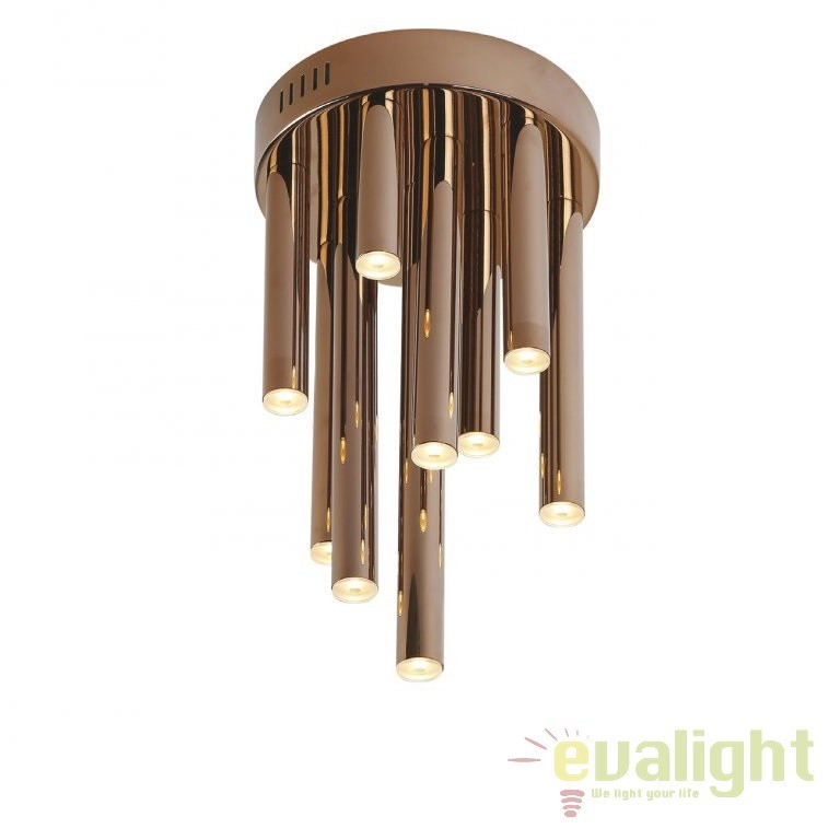 Plafoniera LED design Premium Class Quality ORGANIC cupru C0116 MX, ILUMINAT INTERIOR LED , Corpuri de iluminat, lustre, aplice, veioze, lampadare, plafoniere. Mobilier si decoratiuni, oglinzi, scaune, fotolii. Oferte speciale iluminat interior si exterior. Livram in toata tara.  a