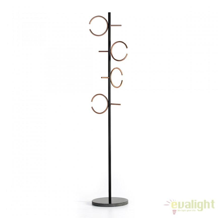 Cuier metalic design LUX Mármol 31760/00 TN, Mobilier divers, Corpuri de iluminat, lustre, aplice, veioze, lampadare, plafoniere. Mobilier si decoratiuni, oglinzi, scaune, fotolii. Oferte speciale iluminat interior si exterior. Livram in toata tara.  a