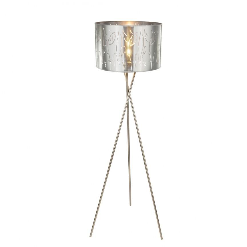 Lampadar design modern NADI H-160cm 15360S1 GL, PROMOTII, Corpuri de iluminat, lustre, aplice, veioze, lampadare, plafoniere. Mobilier si decoratiuni, oglinzi, scaune, fotolii. Oferte speciale iluminat interior si exterior. Livram in toata tara.  a
