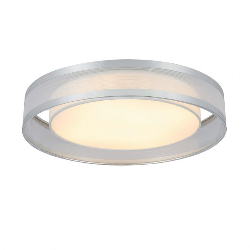 Lustra LED aplicata design modern Ø40cm Naxos 15259D2 GL, ILUMINAT INTERIOR LED , Corpuri de iluminat, lustre, aplice, veioze, lampadare, plafoniere. Mobilier si decoratiuni, oglinzi, scaune, fotolii. Oferte speciale iluminat interior si exterior. Livram in toata tara.  a
