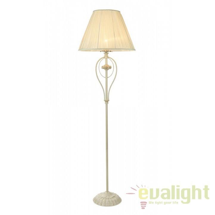 Lampadar elegant design clasic Olivia crem MYARM326-11-W , Lampadare clasice, Corpuri de iluminat, lustre, aplice, veioze, lampadare, plafoniere. Mobilier si decoratiuni, oglinzi, scaune, fotolii. Oferte speciale iluminat interior si exterior. Livram in toata tara.  a