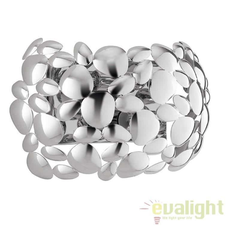 Aplica design modern DIONISO crom I-DIONISO-AP-CR, Aplice de perete moderne, Corpuri de iluminat, lustre, aplice, veioze, lampadare, plafoniere. Mobilier si decoratiuni, oglinzi, scaune, fotolii. Oferte speciale iluminat interior si exterior. Livram in toata tara.  a