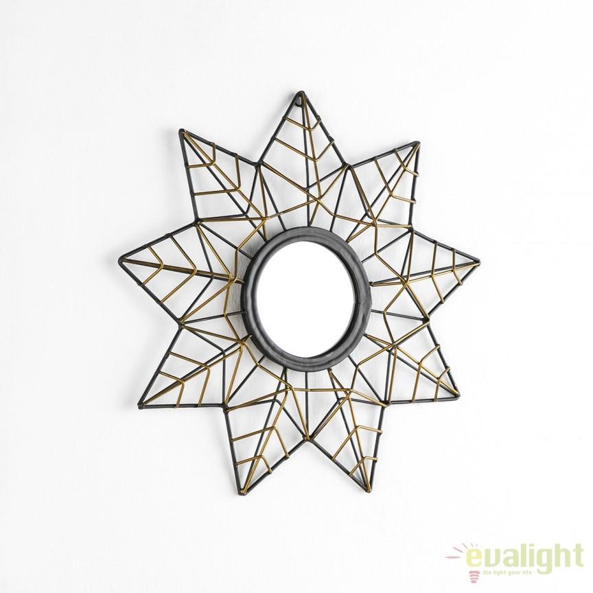 Oglinda decorativa Dorado, 41cm 13180/00 TN, Magazin, Corpuri de iluminat, lustre, aplice, veioze, lampadare, plafoniere. Mobilier si decoratiuni, oglinzi, scaune, fotolii. Oferte speciale iluminat interior si exterior. Livram in toata tara.  a