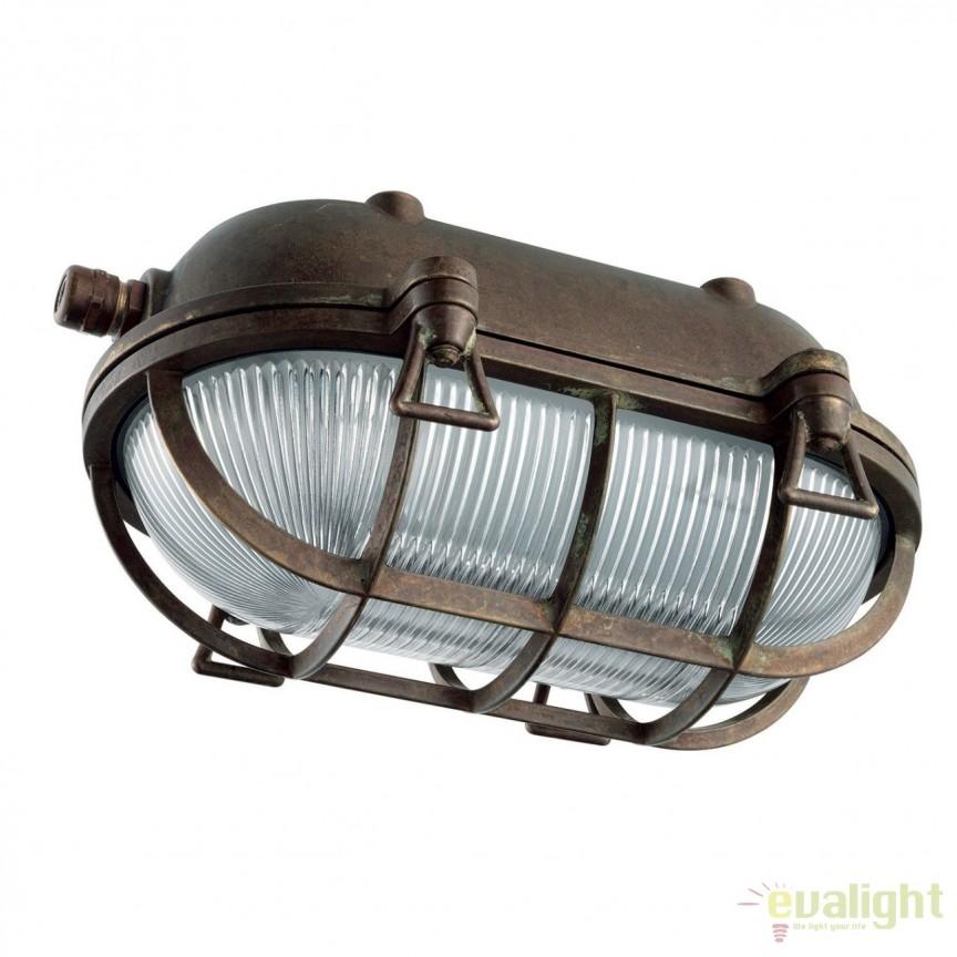 Aplica exterior cu protectie IP54 Marina LED, L-24cm 247.47.OO, Aplice de exterior clasice, rustice, traditionale, Corpuri de iluminat, lustre, aplice, veioze, lampadare, plafoniere. Mobilier si decoratiuni, oglinzi, scaune, fotolii. Oferte speciale iluminat interior si exterior. Livram in toata tara.  a