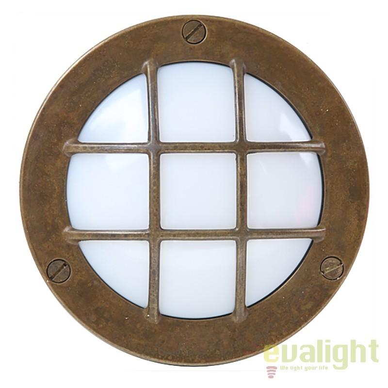 Aplica exterior cu protectie IP55 Marina GX53, 14cm 247.23.OO, Aplice de exterior clasice, rustice, traditionale, Corpuri de iluminat, lustre, aplice, veioze, lampadare, plafoniere. Mobilier si decoratiuni, oglinzi, scaune, fotolii. Oferte speciale iluminat interior si exterior. Livram in toata tara.  a