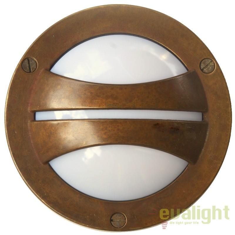 Aplica exterior cu protectie IP55 Marina GX53, 14cm 247.24.OO, Aplice de exterior clasice, rustice, traditionale, Corpuri de iluminat, lustre, aplice, veioze, lampadare, plafoniere. Mobilier si decoratiuni, oglinzi, scaune, fotolii. Oferte speciale iluminat interior si exterior. Livram in toata tara.  a