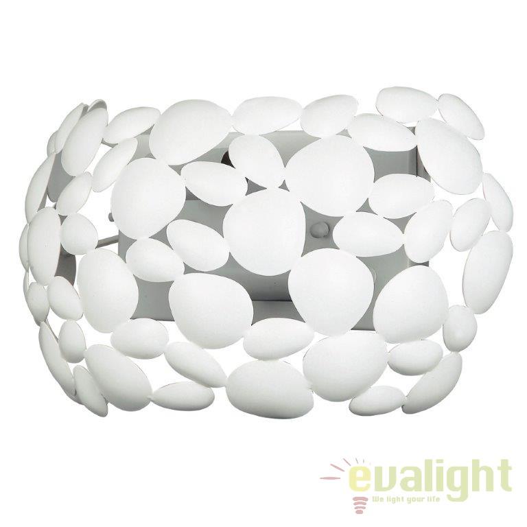 Aplica design modern DIONISO metal alb I-DIONISO-AP-BCO, Aplice de perete simple, Corpuri de iluminat, lustre, aplice, veioze, lampadare, plafoniere. Mobilier si decoratiuni, oglinzi, scaune, fotolii. Oferte speciale iluminat interior si exterior. Livram in toata tara.  a