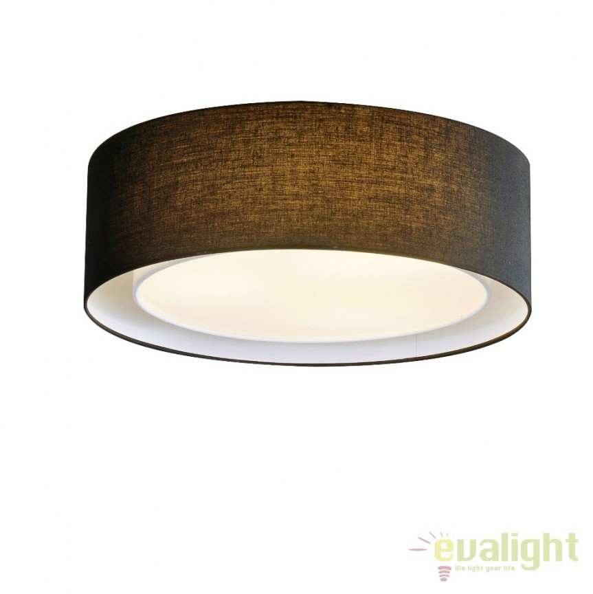 Lustra moderna aplicata Ø50cm MILO BK , Promotii si Reduceri⭐ Oferte ✅Corpuri de iluminat ✅Lustre ✅Mobila ✅Decoratiuni de interior si exterior.⭕Pret redus online➜Lichidari de stoc❗ Magazin ➽ www.evalight.ro. a