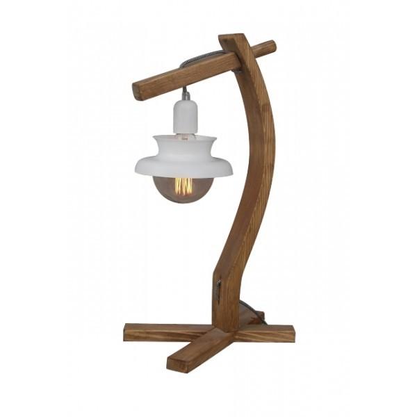 Lampa de masa design rustic-industrial HL-305TL NORIO 77-3136 HL, Veioze, Corpuri de iluminat, lustre, aplice, veioze, lampadare, plafoniere. Mobilier si decoratiuni, oglinzi, scaune, fotolii. Oferte speciale iluminat interior si exterior. Livram in toata tara.  a